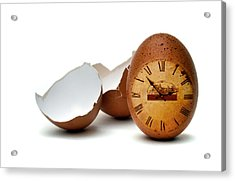 Acrylic Print featuring the photograph egg by Mariusz Zawadzki
