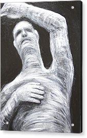 Egyptian Mummy Conducting Beethoven's Ninth Symphony  Acrylic Print by Kazuya Akimoto