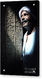 Egyptian Portrait 2 Acrylic Print by Bob Christopher