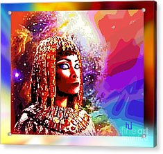 Egyptian Queen Acrylic Print by Hartmut Jager