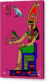 Egyptian Royalty Acrylic Print by Hartmut Jager