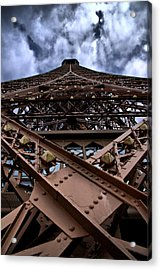Eiffel In Perspective  Acrylic Print by Edward Myers