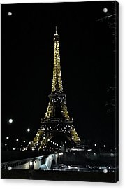 Eiffel Tower - Paris Acrylic Print