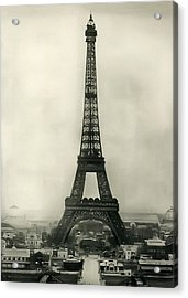 Eiffel Tower 1890 Acrylic Print by Bill Cannon