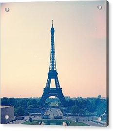Eiffel Tower Acrylic Print by Antimoloko