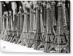 Eiffel Tower Miniature Acrylic Print