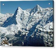 Eiger And Monsch Swiss Alps Acrylic Print