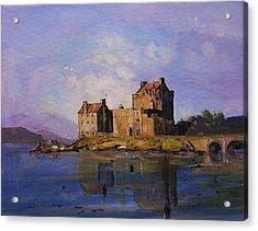 Eilean Donan Castle Acrylic Print by Peter Tarrant
