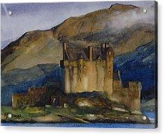 Eilean Donan Castle Acrylic Print by Tony Northover