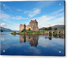 Acrylic Print featuring the photograph Eilean Donan by Harvey Barrison