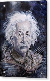 Einstein Acrylic Print by Tanya Jacobsz