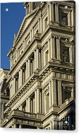 Eisenhower Executive Office Building Washington Dc Acrylic Print by Dustin K Ryan
