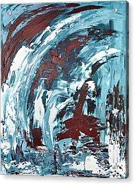 Eiskaltes Rot Acrylic Print by Thomas Kleiner
