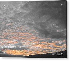 El Cielo - Ile De La Reunion Acrylic Print by Francoise Leandre