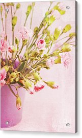 El Clavel  Acrylic Print by Angela Doelling AD DESIGN Photo and PhotoArt
