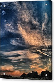 El Greco Sunset Acrylic Print by Richard Cummings