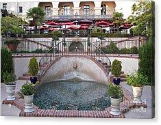El Prado Restaurant Balboa Park Acrylic Print
