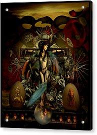 El Templo Acrylic Print by Raul Villalba