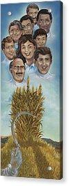 El Trigo Y La Cizana Acrylic Print by Joe Santana