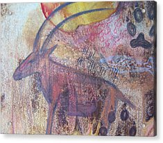 Eland Acrylic Print by Vijay Sharon Govender