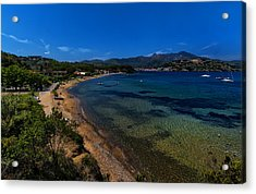 Acrylic Print featuring the photograph Elba Island - On The Beach 1 - Ph Enrico Pelos by Enrico Pelos