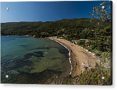 Acrylic Print featuring the photograph Elba Island - On The Beach 2 - Ph Enrico Pelos by Enrico Pelos