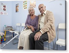 Elderly Patients Acrylic Print by Adam Gault