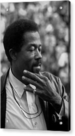 Eldridge Cleaver 1935-1998, Minister Acrylic Print by Everett