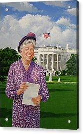 Eleanor Everywhere Acrylic Print by Cliff Spohn