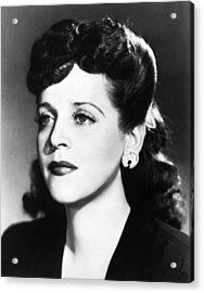Eleanor Steber (1916-1990) Acrylic Print by Granger