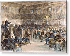 Electoral Commission, 1877 Acrylic Print by Granger