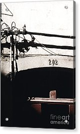 Acrylic Print featuring the photograph Electric Cables by Agnieszka Kubica