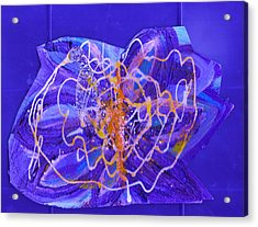 Electric Ecstasy Acrylic Print by Anne-Elizabeth Whiteway