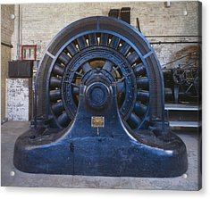 Electric Generator In The Folsom Acrylic Print by Everett