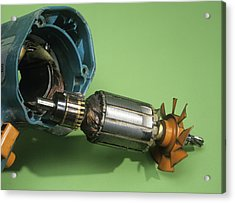Electric Motor Acrylic Print by Andrew Lambert Photography