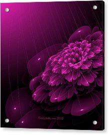 Electric Rain Acrylic Print
