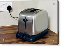 Electric Toaster Acrylic Print by Johnny Greig