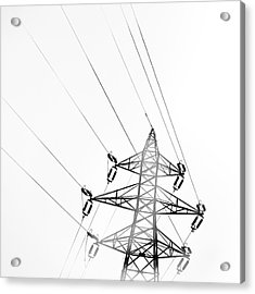Electrical Tower Acrylic Print