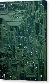 Electronic Highway Acrylic Print by David Paul Murray