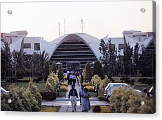 Electronics City, India Acrylic Print by Volker Steger