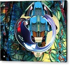 Elements Of Freedom Acrylic Print