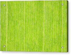 Elephant Ear Leaf Acrylic Print by Will Czarnik