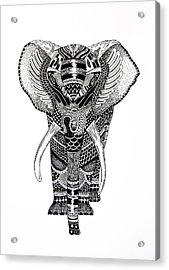 Elephant Acrylic Print by JF Mondello
