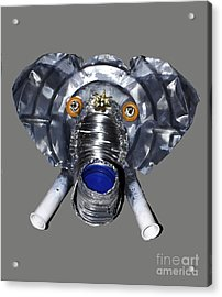 Elephant Mask Acrylic Print