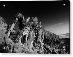 Elephant Rock Acrylic Print by Keith Kapple