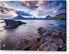Elgol Sunset Acrylic Print