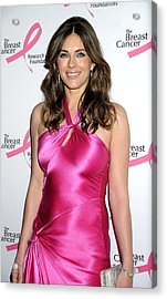 Elizabeth Hurley At Arrivals For Hot Acrylic Print by Everett