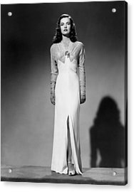 Ella Raines, 1944 Acrylic Print by Everett