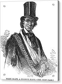 Ellen Craft (b.1826) Acrylic Print by Granger
