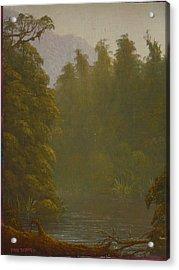 Ellery River 1977 Acrylic Print by Terry Perham